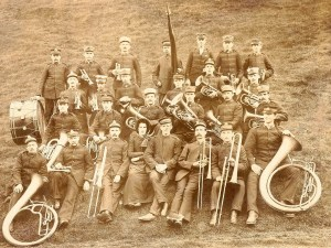 The earliest known photo of Sheffield Citadel Band